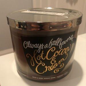 BRAND NEW Hot Cocoa & Cream by Bath & Body Works